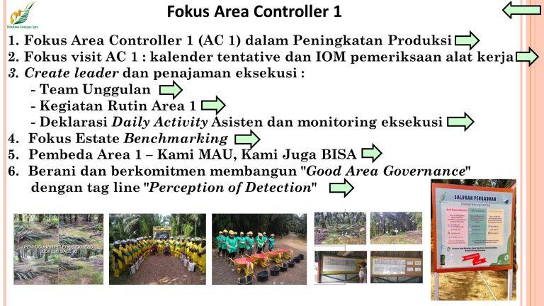 Fokus Area Controller 1, disampaikan pada Rakor AC - Rabu 16 September 2020