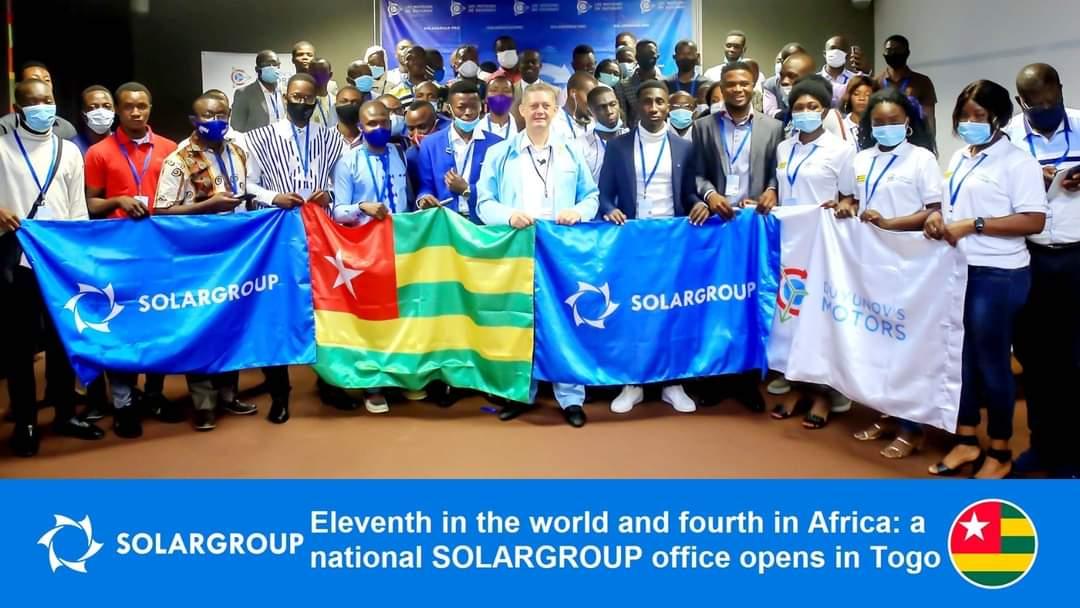 Kesebelas di dunia dan keempat di Afrika, Kantor nasional SOLARGROUP dibuka di Togo