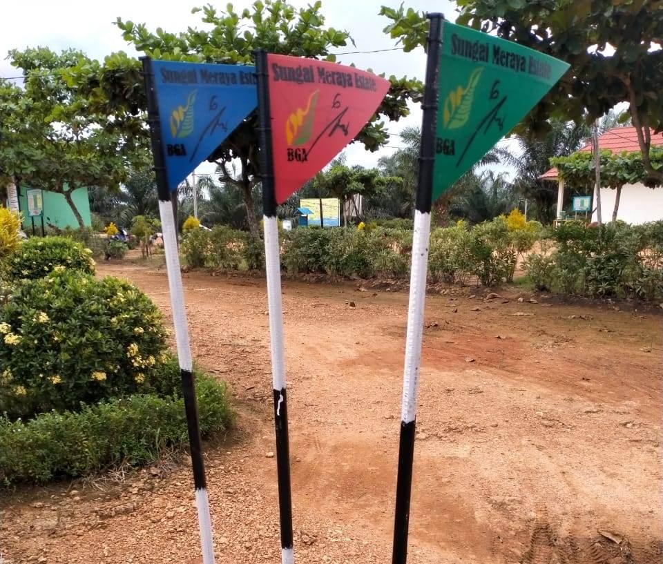 Dibuatkan Bendera sebagai pemberi informasi aktivitas apa yang sedang dilakukan