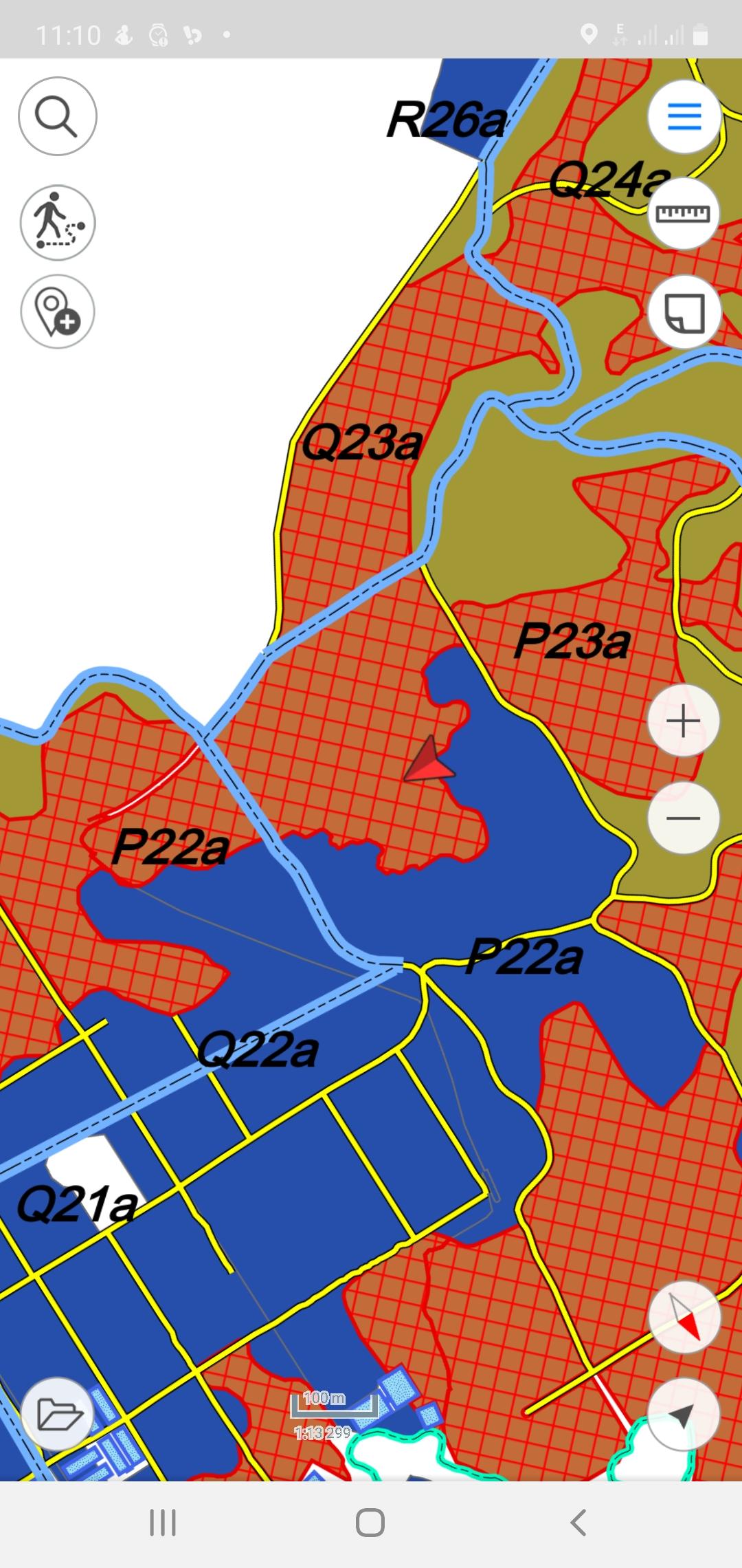 Peta Surprise Quality Check Area Controller 1 - SMRE Divisi 02 Blok P22 - Kamis, 01 Oktober 2020