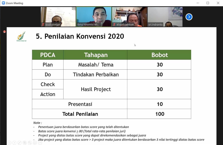 18. Penilaian Konvensi 2020