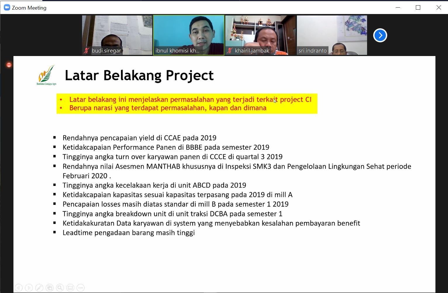 5. Latar Belakang Project