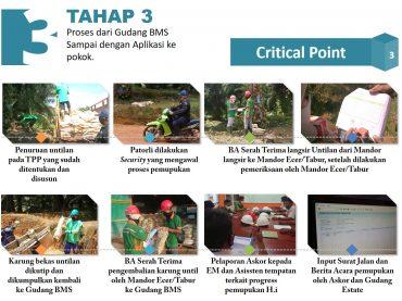 TUNTAS Tracking Material Pupuk, Agrochemical dan Material Lain AREA 01 Regional Mentaya