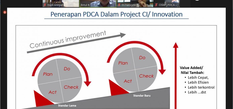 Sosialisasi Project CI dan Inovasi Tahun 2021
