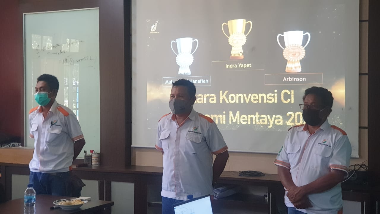 Para Juara CI Agronomi 2020 Region Mentaya