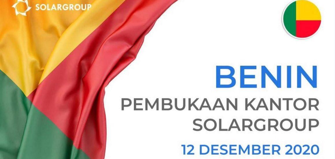 SolarGroup Membuka Kantor di Benin