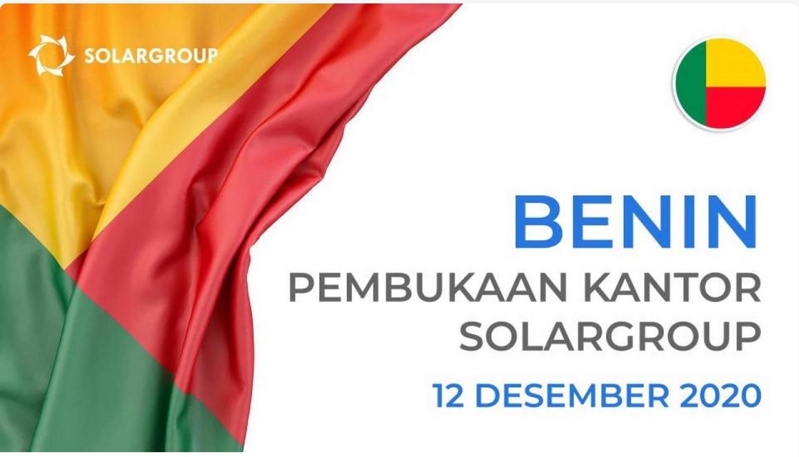 SolarGroup Buka Kantor di Benin