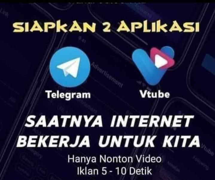 VTube - Saatnya Internet Bekerja untuk Anda