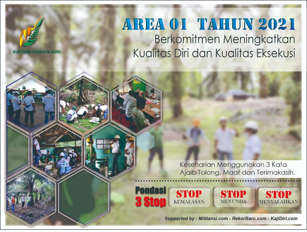 Area 1 - Kualitas Diri dan Kualitas Eksekusi - Untuk Baliho 1 titik Ukuran 4 m x 3 m