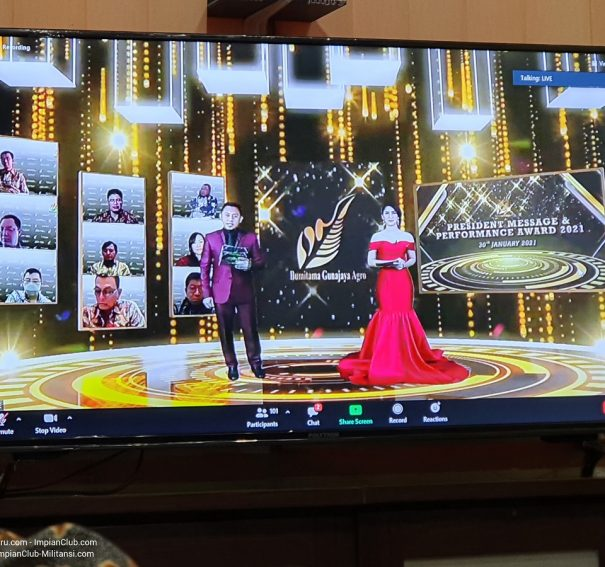 Video-Video Penting President Message & Performance Award 2021, 30 Januari 2021