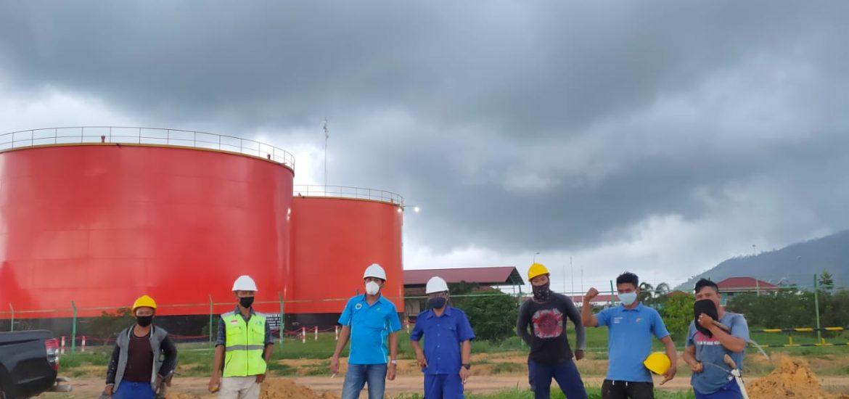 Team Tanam Kebun Buah BBNM - Kamis, 12 Agustus 2021