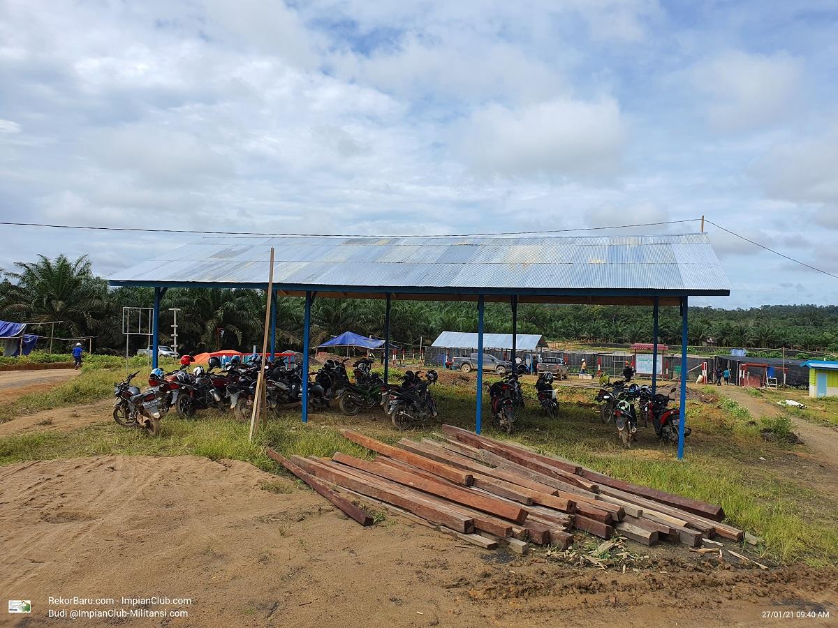 View Pembibitan BDME Mangkup Area 1 - Foto diambil pada hari Selasa, 27.01.2021.