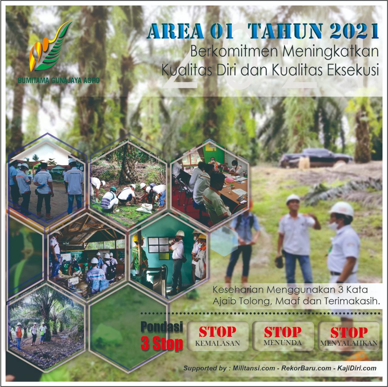 Area 1 di Tahun 2021, untuk DP WA