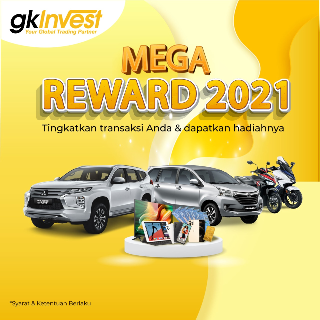 2 Mega Reward 2021 - GKInvest
