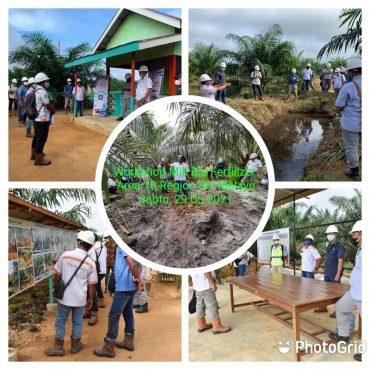Area 10 Perdana Melakukan Workshop Mill Biofertilizer di Kalimantan Barat