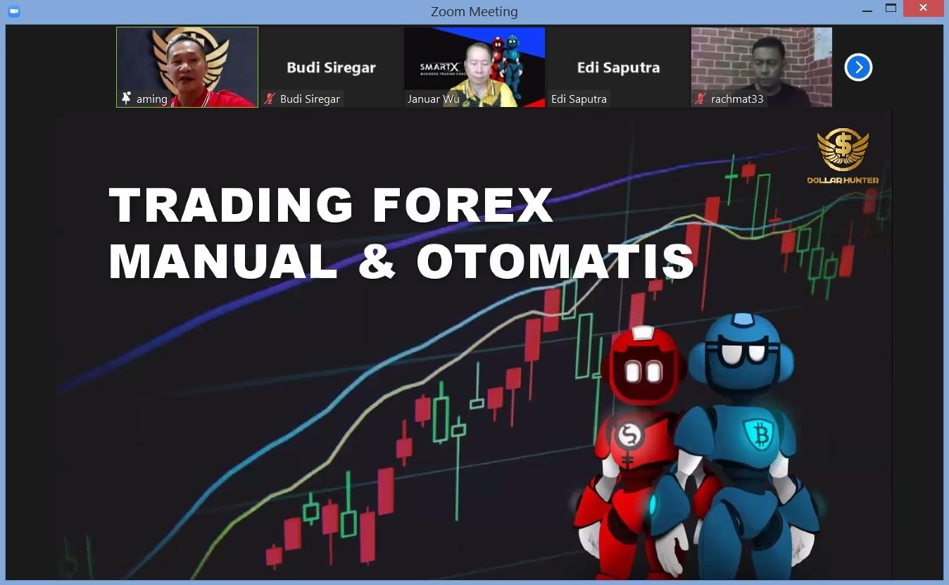 10. Trading Forex Manual dan Otomatis