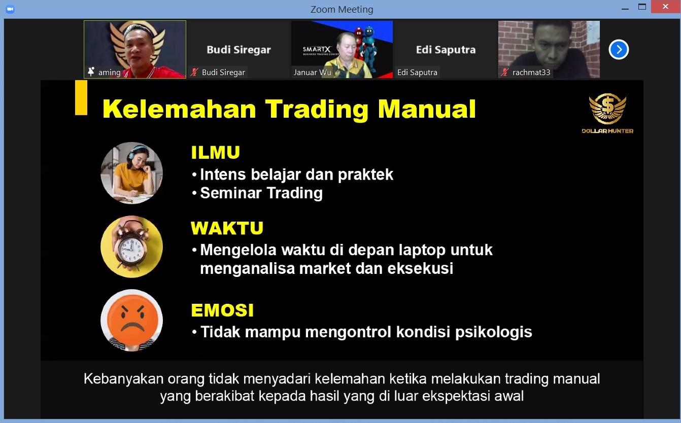 11. Kelemahan Trading Manual