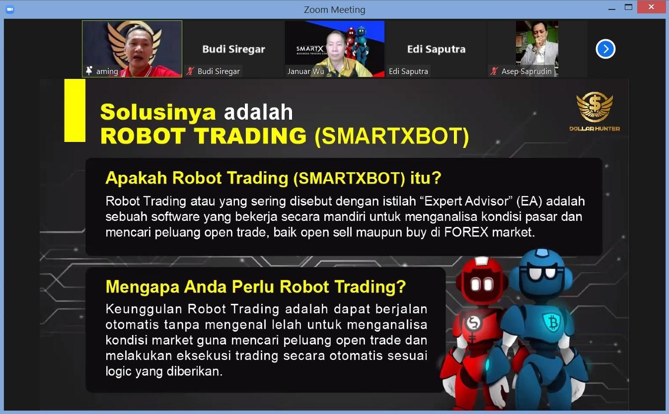 12. Solusinya adalah Robot Trading SmartXBOT