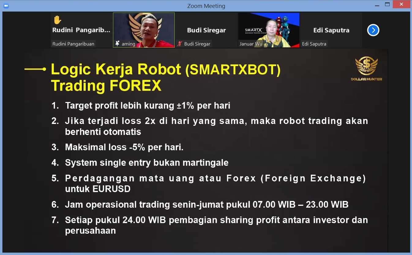 16. Logic Kerja Robot SmartXBOT Trading Forex