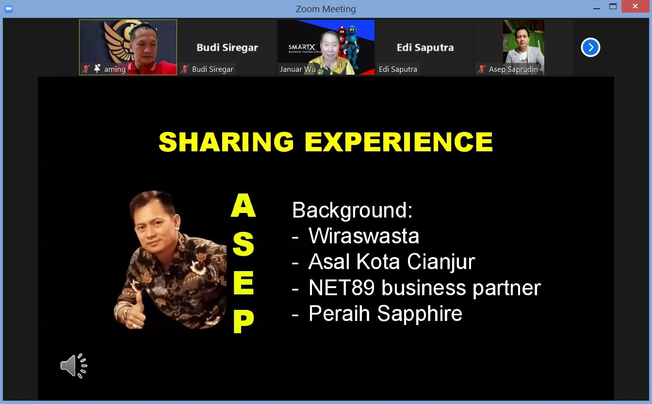 28. Sharing Experience, Bapak Asep Saprudin Cianjur