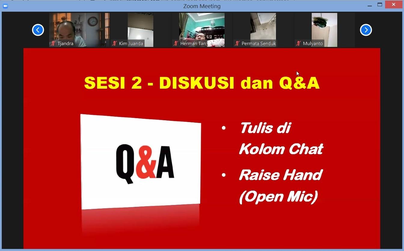 29. Sesi 2 - Diskusi dan Q, A