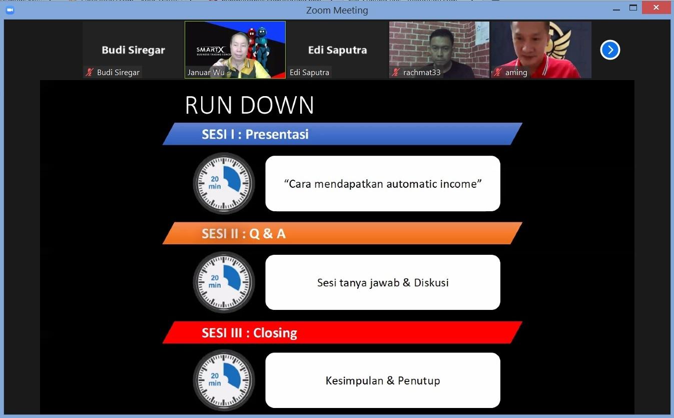 3. Run Down Cara Mendapatkan Automatic Income