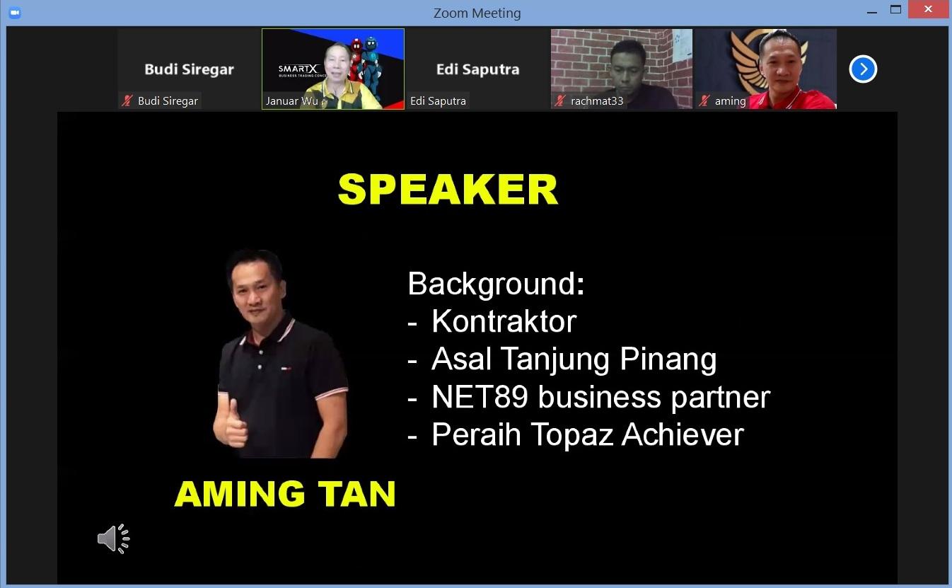 4. Just Speaker Bapak Aming Tan - Cara Mendapat Automatic Income