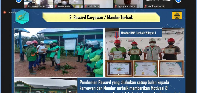 4.36. Reward Karyawan dan Mandor Terbaik SMRE Area 1