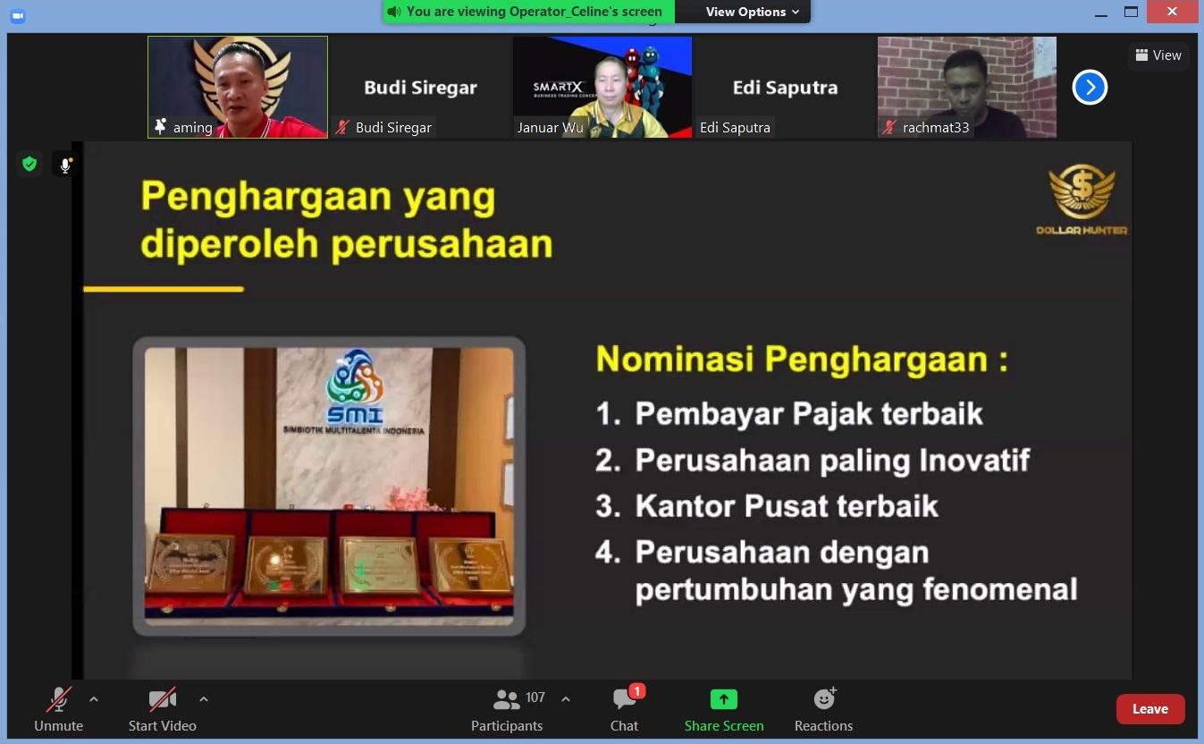 7. Penghargaan yang diperoleh perusahaan, PT. SMI