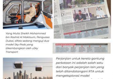 Dubai Menuju Transportasi Masa Depan